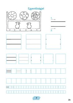 Mozaik Számvázoló 1 - Kiss Virág - Picasa Webalbumok Tracing Worksheets, Preschool Worksheets, Pre Writing, Home Learning, Fine Motor Skills, Special Education, Alphabet, Homeschool, Printables