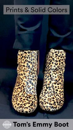 I personally tested these in the leopard print and haven't taken them off. Plus, I've gotten tons of compliments and even convinced a few other people to buy them after wandering around in them over a long weekend in New York City. Casual Heels, Low Heels, Wedge Heels, Comfortable High Heels, Travel Items, Block Heel Shoes, Travel Wardrobe, Long Weekend, Rubber Rain Boots