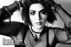 Make-up by Giorgia Di Giorgio Siouxie ispired