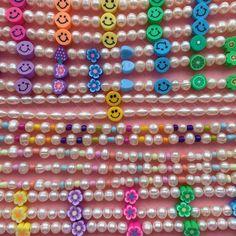Funky Jewelry, Kids Jewelry, Trendy Jewelry, Summer Jewelry, Cute Jewelry, Pearl Jewelry, Fashion Jewelry, Jewelry Making, Handmade Accessories