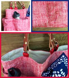 garden tote red 2
