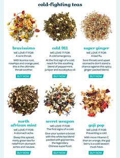 Teas start at $6.50! Plus more things to buy on the site!