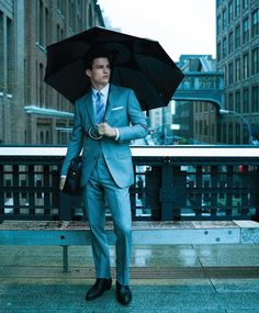 Rainy day style.