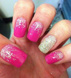 Pink glitter!!!!