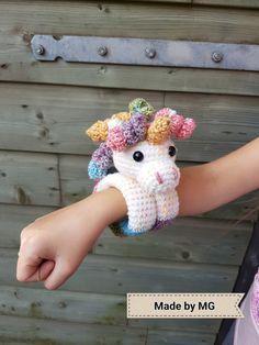 Knuffelarmband Unicorn