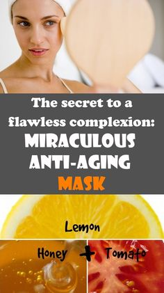 The secret to a flawless complexion: Miraculous Anti-Aging Mask. ==