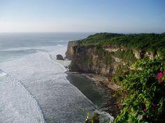 Cliffs in Uluwatu, Bali, Indonesia