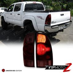 FOR TOYOTA TACOMA 2005-2007 CHROME TAILLIGHT COVER
