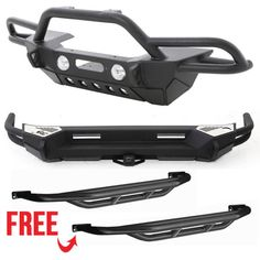 Smittybilt SRC Front and Rear Bumpers with SRC Side Armor - Textured Matte Black Jeep Jk, Jeep Wrangler Jk, Jeep Wrangler Unlimited, Jeep Suzuki, Suzuki Jimny, Jeep Wrangler Accessories, Jeep Accessories, Sidekick Suzuki, Vw T3 Syncro