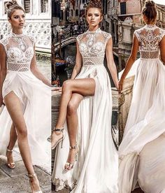Amazing Outfit Ideas Fiesta You Will Love outfit ideas fiesta, The Life, Loves & Psyche of a Male Mid-Life Crisis Fairy Wedding Dress, Sheath Wedding Gown, Sexy Wedding Dresses, Wedding Gowns, Prom Dresses, Formal Dresses, Bride Dresses, Wedding Bride, Slit Wedding Dress