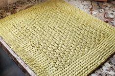 Tunisian Crochet Kitchen Mat Pattern