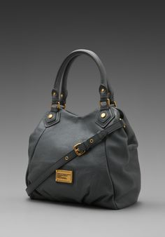 MARC BY MARC JACOBS Classic Q Fran in Gunmetal - Marc by Marc Jacobs