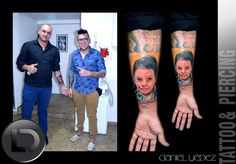 Portrait tattoo color Artista Daniel Yepez Estamos ubicados en Quito- Ecuador Carrión Oe-123 y 10 de agosto cerca de almacenes la Ganga local de fachada negra Whatsapp 0989812096(Claro) mail: tattookdt@hotmail... Te esperamos Lunes a Sábado de 10:00 a 8:00pm