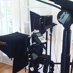 @empirestudiosnyc using an ikan Teleprompter! Have you checked out our latest teleprompters? We've got a few new ones! ⭐️ ⭐️ ⭐️ #ikan #ikancorp #teleprompters #production #equipment #gear #filmlife #setlife