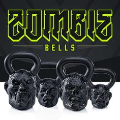 Introducing Zombie Bells, hand-sculpted zombie kettlebells from Onnit. Perfectly balanced and ideally proportioned for swings and fitness lifts. VERY limited quantities ... Once they're gone, they won't be resurrected.