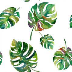 Diseño de patrón de hojas Vector Gratis