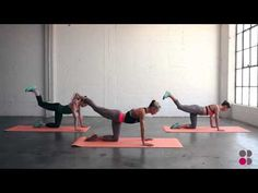 Sweaty Betty presents the Body by Simone workout for Get Fit 4 Free - YouTube