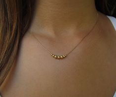 Rose Gold Diamond Solitaire Necklace / Bezel Setting Solitaire Minimalist Necklace / Delicate Diamond Necklace / Diamond Choker A single brilliant round cut diamond different choices of diamond size) hangs on a bail at the center of a thin gol Delicate Gold Necklace, Diamond Solitaire Necklace, Gold Choker, Simple Necklace, Diamond Jewelry, Gold Jewelry, Layered Necklace, Gold Bracelets, Gold Earrings