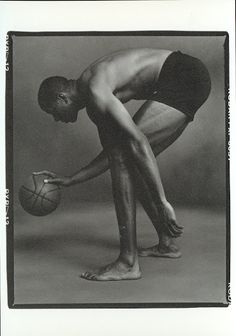 Magic Johnson by Annie Leibovitz