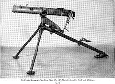 American Deknight machine gun