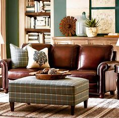 Dark Leather Couches, Dark Brown Sofas, Brown Leather Furniture, Leather  Sofa Set,