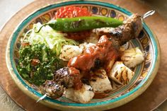Turkey is famous for its delicious, delicately spiced kebabs and this version is a favourite.