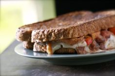 Southwestern #Vegan Grilled Cheese Sandwich