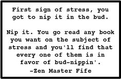 Poems & Quotes Finder: Barney Fife - Zen Master Quotes - Andy Griffith Show