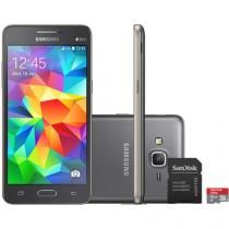 Smartphone Samsung Galaxy Gran Prime Duos 8GB - Cinza Dual Chip 3G Câm. 8MP…