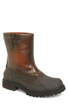 Frye 'Alaska' Waterproof Lug Boot with Genuine Shearling Insole (Men)