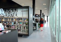 The new public library in Almere by Concrete Architectural Associates.