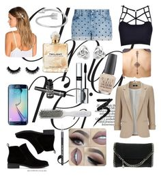 """Untitled #39"" by natali-stylinson on Polyvore featuring beauty, STELLA McCARTNEY, Wallis, Lucky Brand, Lelet NY, Samsung, Georgini, Sarah Jessica Parker, Barry M and OPI"