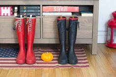 Fall // Rain Boots // Mode & The City