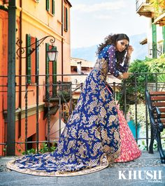 Looking for the perfect bridal lehenga for the Big Day? Seema Silk Sarees has it covered!    200 Green Street, Forest Gate, London E7 8JT  +44(0)20 8471 1799 www.seemasilksarees.com    Makeup: Gini Bhogal  Hair: Mukhtar Rehman Jewellery: Anees Malik Location: Bellagio, Italy
