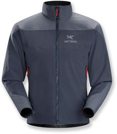 A high performance soft shell that takes care of wind and rain—Men's Arc'teryx Venta AR Jacket.