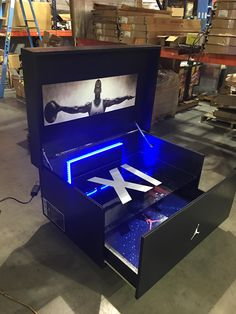We will build and customize your favorite giant shoe box storage design. Organize your sneaker collection with style, and finesse. For true sneakerheads only. Big Shoe Box, Giant Shoe Box Storage, Shoe Storage, Storage Boxes, Jordan Shoe Box Storage, Storage Ideas, Space Jam, Hypebeast Room, Sneaker Storage