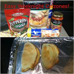 unBearablyGood: Easy Weeknight Calzones! Super yum...