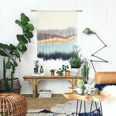 Wanting to sort that blank wall out in your apartment or home , but lacking inspiration? Check out our inspiring tips from our newest NZ contributor @vanessawardrobe , live on the blog. Link in profile. I think there will be a few things you haven't considered! ........ Incredible creative talent by @fibersbyfilia and image and styling by @apartmentf15 ..... I need one of these for my walls! 😍 #eclecticcreative