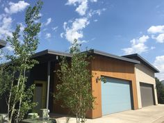 Garage - Modern - Agave Group Durango, CO Silverview Town Homes