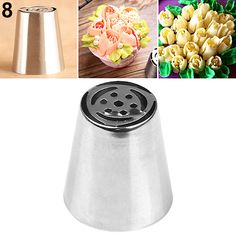 Hot!  Russian Stainless Steel Icing Piping Nozzles Pastry Cake Decoration Tips DIY Tool-in Dessert Decorators from Home & Garden on Aliexpress.com | Alibaba Group