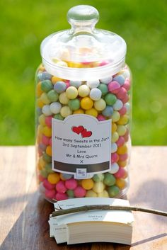 Guess the number of sweets in the jar