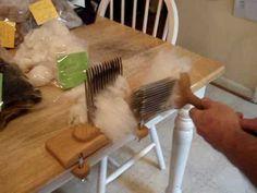 Wool Combing, Fiber Combs, Hackle and Tools #3