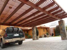 Pergola For Small Patio Steel Pergola, Wood Pergola, Pergola Canopy, Pergola Shade, Garage Gate, Carport Garage, Pergola Designs, Patio Design, Pergola Ideas