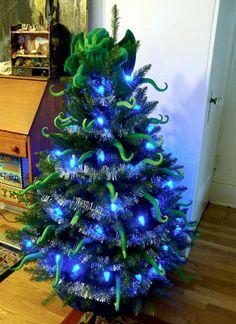Cthulu Christmas tree!