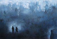 ONEIRIC ESCAPE - Margarita Lypiridou - 28'' x 40'' - technique mixte sur toile