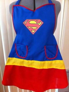 Avental Super Girl