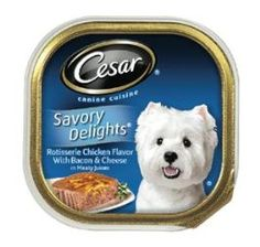 FREE Cesar Savory Delights Dog Food Entrée!