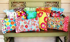 ruffled pillowcases - perfect for kids' bedding