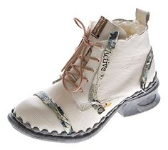 Leder Damen Stiefeletten Comfort Winter Knöchel Schuhe TMA 5355 Stiefel Weiß Boots Gr. 40 - http://on-line-kaufen.de/tma/40-eu-leder-damen-stiefeletten-comfort-winter-tma-3