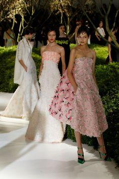 Christian Dior Spring/Summer 2013 Couture at Paris Fashion Week.
